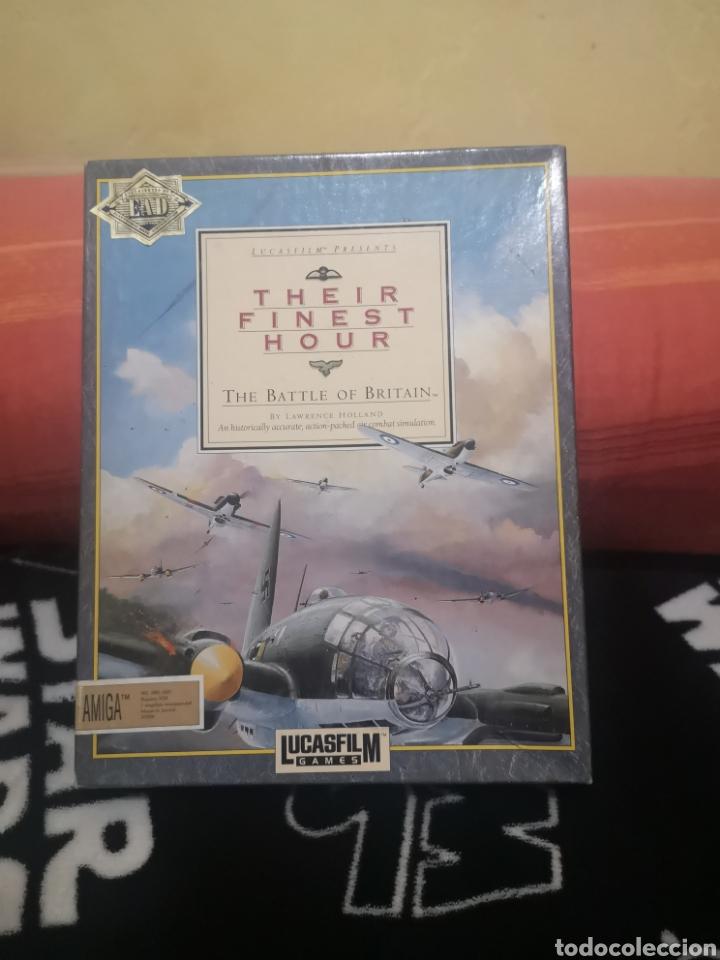 THEIR FINEST HOUR COMMODORE AMIGA (Juguetes - Videojuegos y Consolas - Amiga)