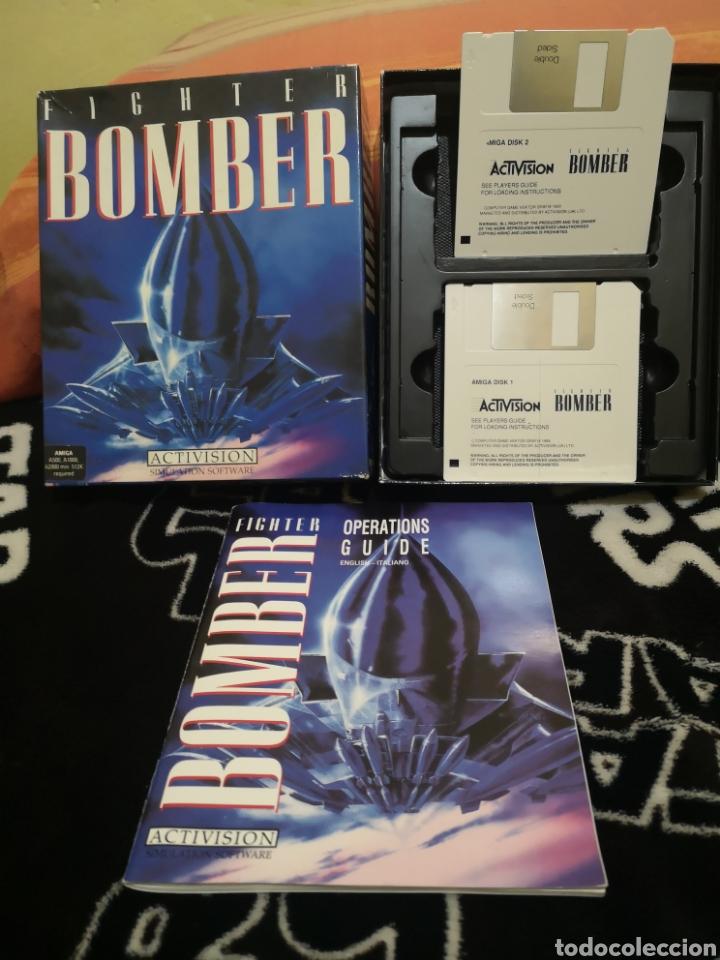 Videojuegos y Consolas: Fighter Bomber Commodore Amiga - Foto 2 - 267600154