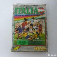 Videojuegos y Consolas: ITALIA 90 / CAJA CARTÓN / COMMODORE AMIGA / RETRO VINTAGE / DISCO - DISKETTE - DISQUETE. Lote 267636159