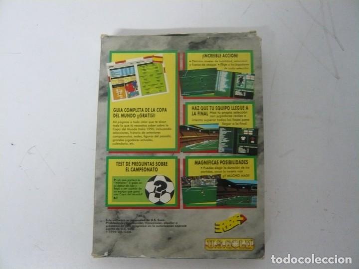 Videojuegos y Consolas: ITALIA 90 / CAJA CARTÓN / COMMODORE AMIGA / RETRO VINTAGE / DISCO - DISKETTE - DISQUETE - Foto 2 - 267636159