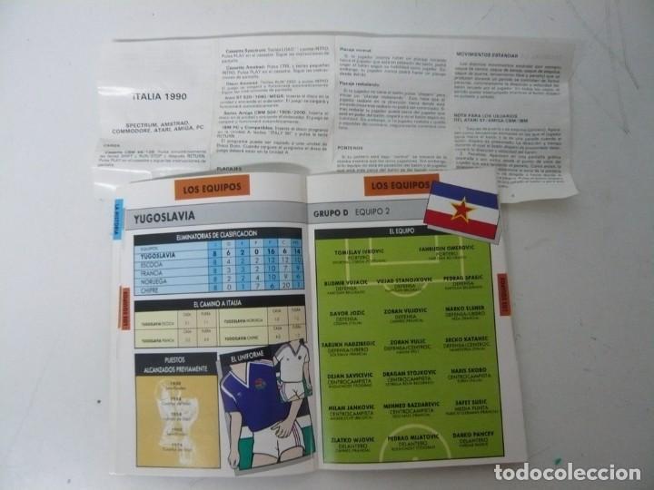 Videojuegos y Consolas: ITALIA 90 / CAJA CARTÓN / COMMODORE AMIGA / RETRO VINTAGE / DISCO - DISKETTE - DISQUETE - Foto 4 - 267636159