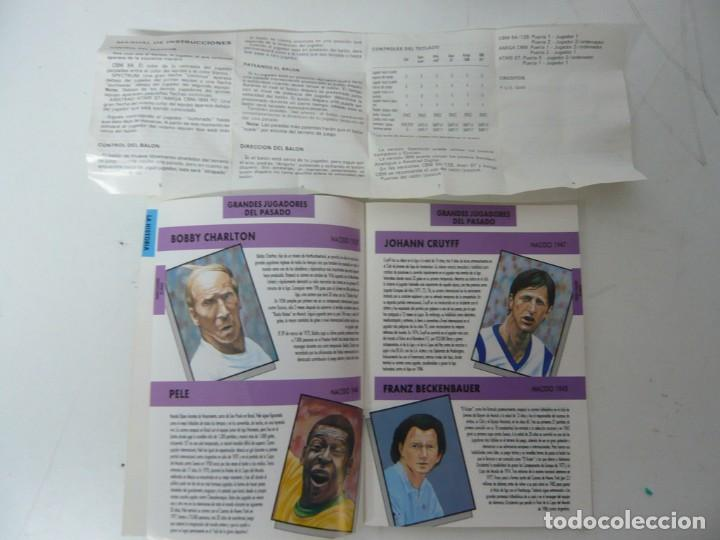 Videojuegos y Consolas: ITALIA 90 / CAJA CARTÓN / COMMODORE AMIGA / RETRO VINTAGE / DISCO - DISKETTE - DISQUETE - Foto 5 - 267636159