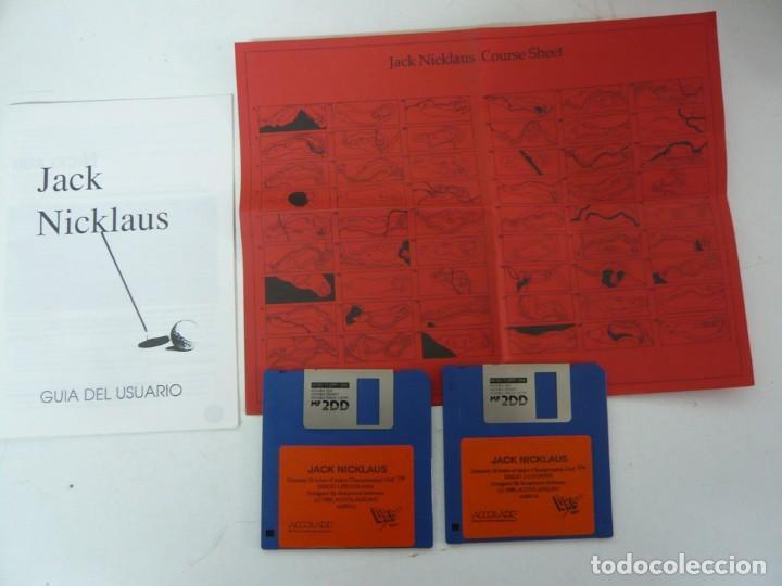 Videojuegos y Consolas: JACK NICKLAUS GOLF / CAJA CARTÓN / COMMODORE AMIGA / RETRO VINTAGE / DISCO - DISKETTE - DISQUETE - Foto 4 - 267636509