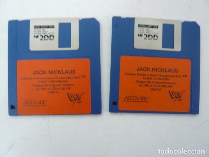 Videojuegos y Consolas: JACK NICKLAUS GOLF / CAJA CARTÓN / COMMODORE AMIGA / RETRO VINTAGE / DISCO - DISKETTE - DISQUETE - Foto 5 - 267636509