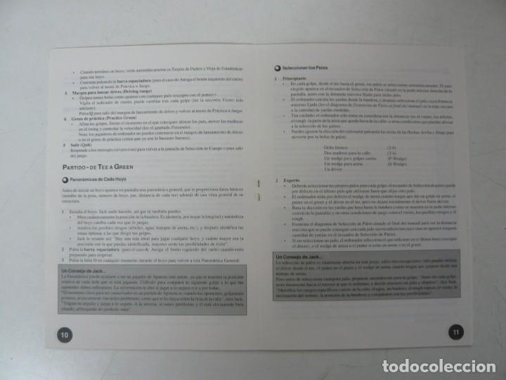 Videojuegos y Consolas: JACK NICKLAUS GOLF / CAJA CARTÓN / COMMODORE AMIGA / RETRO VINTAGE / DISCO - DISKETTE - DISQUETE - Foto 7 - 267636509