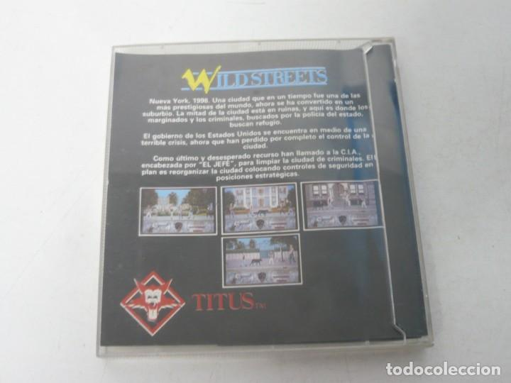 Videojuegos y Consolas: WILD STREETS / JEWELL CASE / COMMODORE AMIGA / RETRO VINTAGE / DISCO - DISKETTE - DISQUETE - Foto 2 - 267637069