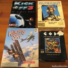 Videojuegos y Consolas: LOTE 4 JUEGOS COMMODORE AMIGA. Lote 272317468