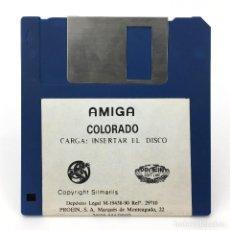 Videojuegos y Consolas: COLORADO PROEIN SOFT LINE SILMARILS 1990 ANTIGUO VIDEOJUEGO CLASICO VINTAGE COMMODORE AMIGA DISKETTE. Lote 273392863