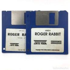 Videojuegos y Consolas: ROGER RABBIT COKTEL VISION CEDIC NATHAN VIDEOJUEGO VINTAGE DE DIBUJOS JUEGO COMMODORE AMIGA DISKETTE. Lote 273392918