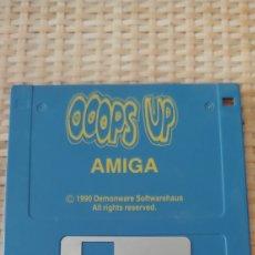 Videojuegos y Consolas: OOPS UP (PANG).COMMODORE AMIGA 500. 1000 SOLO DISQUETE DISKETTE NO SPECTRUM ATARI AMSTRAD PC SVI. Lote 284241078