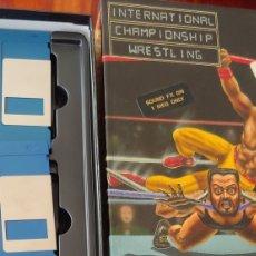 Videojuegos y Consolas: INTERNATIONAL CHAMPIONSHIP WRESRLING COMMODORE AMIGA BIG BOX DISQUETE DISKETTE NO SPECTRUM AMSTRAD. Lote 284711683