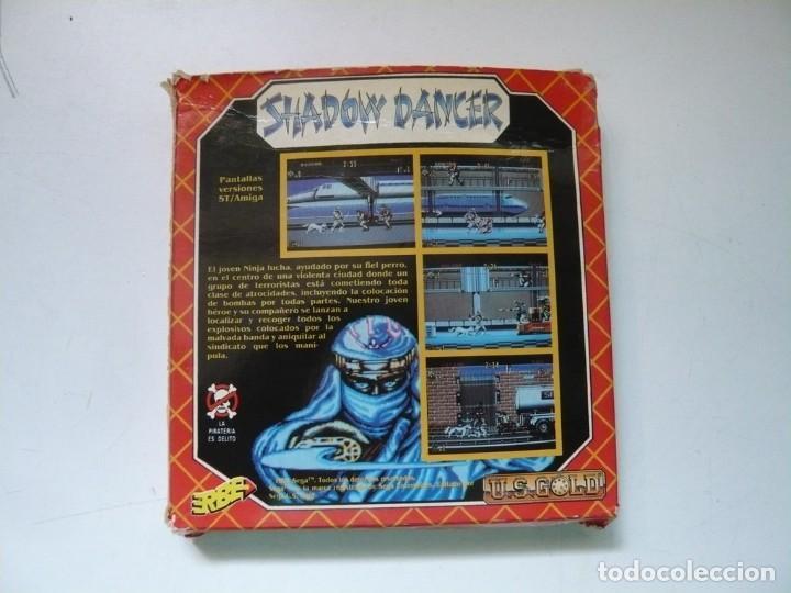 Videojuegos y Consolas: Shadow Dancer / CAJA CARTÓN / COMMODORE AMIGA / RETRO VINTAGE / DISCO - DISKETTE - DISQUETE - Foto 2 - 284754938
