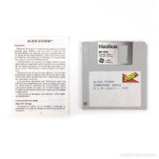 Videogiochi e Consoli: ALIEN STORM · ERBE ESPAÑA SEGA 1991 JUEGO RETRO INFORMATICA VINTAGE DISKETTE 3½ COMMODORE AMIGA DISK. Lote 243064930