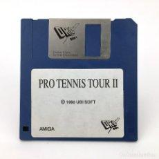 Videojuegos y Consolas: PRO TENIS TOUR II DRO SOFT UBI SOFT 1990 TENNIS ANTIGUO VIDEOJUEGO VINTAGE COMMODORE AMIGA DISKETTE. Lote 287397393