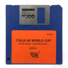 Videojuegos y Consolas: ITALIA 90 WORLD CUP DRO SOFT VIRGIN MASTERTRONIC 1990 FUTBOL SOCCER VINTAGE COMMODORE AMIGA DISKETTE. Lote 287397513