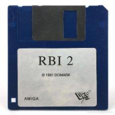 Videojuegos y Consolas: RBI BASEBALL TWO. DISKETTE DRO SOFT ESPAÑA TENGEN 1991 CBM COMMODORE AMIGA 500 1000 2000 DISKETTE 3½. Lote 287397628