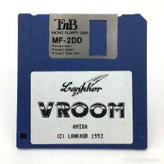 Videojuegos y Consolas: VROOM LANKHOR DAN MCRAE 1992 RACING VIDEO GAME ANTIGUO VIDEOJUEGO VINTAGE COMMODORE AMIGA DISKETTE. Lote 288119783