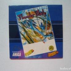 Videojuegos y Consolas: THUNDER BLADE / CAJA CARTÓN / COMMODORE AMIGA / RETRO VINTAGE / DISCO - DISKETTE - DISQUETE. Lote 288177688
