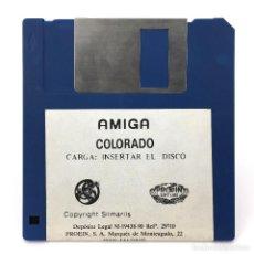 Videojuegos y Consolas: COLORADO PROEIN SOFT LINE SILMARILS 1990 ANTIGUO VIDEOJUEGO CLASICO VINTAGE COMMODORE AMIGA DISKETTE. Lote 288586948