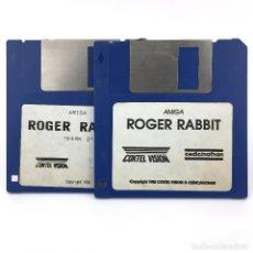 Videojuegos y Consolas: ROGER RABBIT COKTEL VISION CEDIC NATHAN VIDEOJUEGO VINTAGE DE DIBUJOS JUEGO COMMODORE AMIGA DISKETTE. Lote 288586968