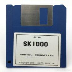 Videojuegos y Consolas: SKIDOO COKTEL EDUCATIVE 1990 VIDEOJUEGO ANTIGUO JUEGO VINTAGE ORDENADOR 500 COMMODORE AMIGA DISKETTE. Lote 291354438