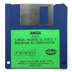 Videojuegos y Consolas: ADVANCED DESTROYER SIMULATOR A.D.S. PROEIN SOFT LINE FUTURA 1990 VIDEOJUEGO COMMODORE AMIGA DISKETTE. Lote 293140993