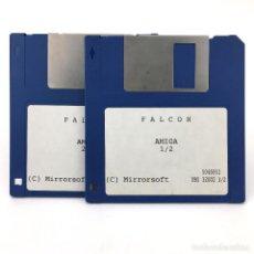 Videojuegos y Consolas: FALCON MIRRORSOFT UBI SOFT JUEGO CLASICO 2 DISCO ANTIGUO VIDEOJUEGO VINTAGE COMMODORE AMIGA DISKETTE. Lote 293591858