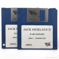 Videojuegos y Consolas: JACK NICKLAUS II DRO SOFT ACCOLADE 1991 GOLF DEPORTE 18 ANTIGUO VIDEOJUEGO COMMODORE AMIGA DISKETTE. Lote 293959953