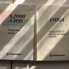Videojuegos y Consolas: AMIGA COMMODORE BASIC DOS 1.3 1985 1988 2 LIBROS KREATEN. Lote 295705333