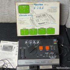 Videojuegos y Consolas: VIDEO CONSOLA ANTIGUA NEVIR CON CARTUCHO DE 204 JUEGOD. Lote 295834468