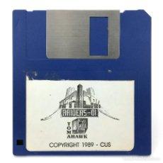 Videojuegos y Consolas: AFRICAN RAIDERS OI TOMAHAWK COKTEL VISION CUS 1990 VIDEOJUEGO JUEGO VINTAGE COMMODORE AMIGA DISKETTE. Lote 297142628