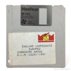 Videojuegos y Consolas: ENGLAND CAMPEONATO EUROPEO - MCM ESPAÑA 1991 CHAMPIONSHIP SPECIAL FUTBOL - COMMODORE AMIGA DISKETTE. Lote 297142908