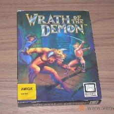 Videojuegos y Consolas: WRATH OF THE DEMON COMPLETO COMMODORE AMIGA. Lote 24583557