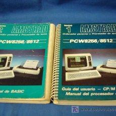 Videogiochi e Consoli: -AMSTRAD. PCW8256 / 8512. MANUAL DE BASIC Y GUIA DEL USUARIO. TOMOS 1 Y 2. ANSOFT 1987. Lote 108042363