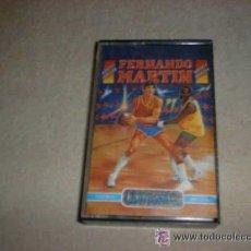 Videojuegos y Consolas: JUEGO CASSETE AMSTRAD : FERNANDO MARTIN AÑOS 80. Lote 26420877