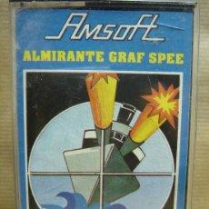 Videojuegos y Consolas: VIDEO JUEGO CASETTE AMSTRAD - ALMIRANTE GRAF SPEE - AMSOFT . Lote 26166688