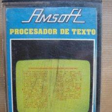 Videojuegos y Consolas: PROCESADOR DE TEXTO CASETE AMSTRAD - AMSOFT 1985. Lote 23283007