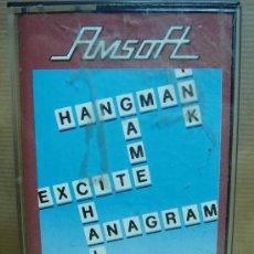 Videojuegos y Consolas: VIDEO JUEGO CASETE AMSTRAD - XANAGRAMS - AMSOFT 1984. Lote 23364375