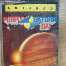 Videojuegos y Consolas: VIDEO JUEGO CASETE AMSTRAD - PURPLE SATURN DAY - ERBE 1989. Lote 23716022