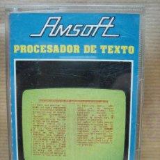 Videojuegos y Consolas: PROCESADOR DE TEXTO CASETE AMSTRAD - AMSOFT 1985. Lote 23716428