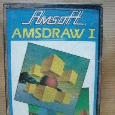 Videojuegos y Consolas: VIDEO JUEGO CASETE AMSTRAD - AMSDRAW I - AMSOFT 1985. Lote 23716472