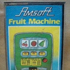 Videojuegos y Consolas: VIDEO JUEGO CASETE AMSTRAD - FRUIT MACHINE - AMSOFT 1985. Lote 23732051