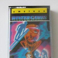 Videojuegos y Consolas: VIDEOJUEGO WINTER GAMES AMSTRAD 464/6128. Lote 27089350