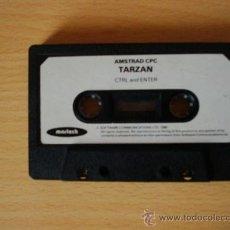 Videojuegos y Consolas: TARZÁN - CINTA AMSTRAD CPC 464 / 6128 . Lote 152899369