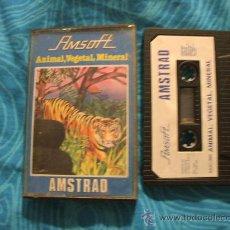 Videojuegos y Consolas: ANIMAL VEGETAL MINERAL AMSTRAD CASSETTE CINTA ¡BUEN ESTADO! AMSOFT 1985. Lote 124475411