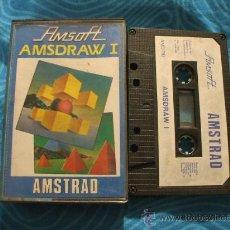 Videojuegos y Consolas: AMSDRAW I AMSTRAD CASSETTE CINTA ¡BUEN ESTADO! AMSOFT 1985. Lote 25268151