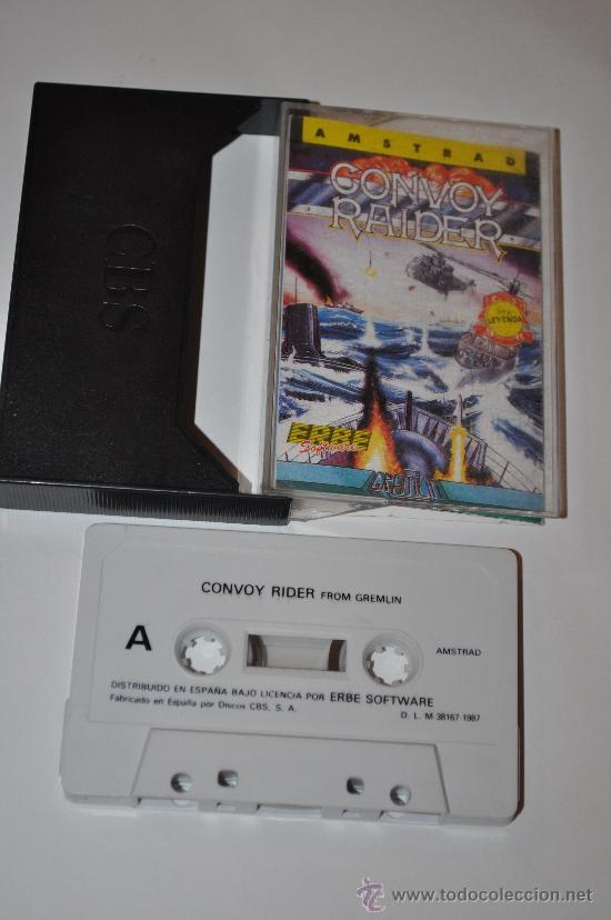 JUEGO AMSTRAD CONVOY RAIDER (Juguetes - Videojuegos y Consolas - Amstrad)