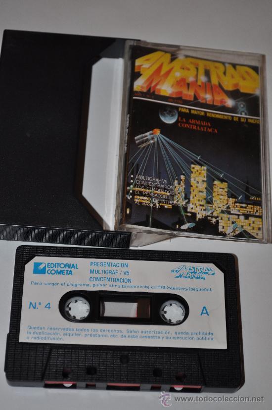 JUEGO AMSTRAD MICRO AMSTRAD MANIA AÑO 1 Nº 4 LA ARMADA CONTRATACA (Juguetes - Videojuegos y Consolas - Amstrad)