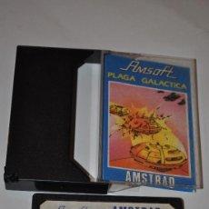 Videojuegos y Consolas: JUEGO AMSTRAD PLAGA GALACTICA. Lote 29182237