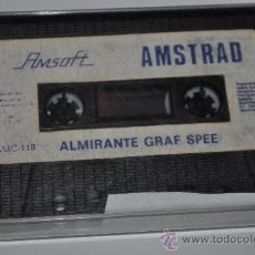 Videojuegos y Consolas: JUEGO AMSTRAD ALMIRANTE GRAF SPEE. Lote 29182248